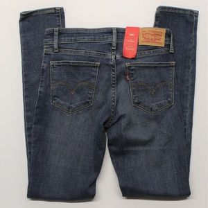 Levi's 711 Skinny Fit Blue Jeans (188810209) 0M